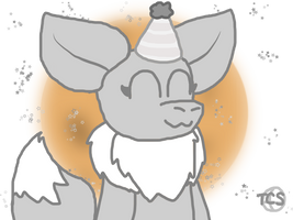 The birthday leaf by The-Creative-Sketchy
