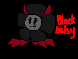Black Daisy by The-Creative-Sketchy
