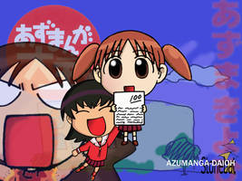 Azumanga Daioh Girls by Stonebat