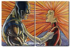 Wolverine Jean Grey by artstudio