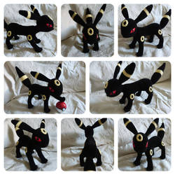 Umbreon amigurumi pattern - part 1 by MissDwidwi