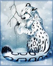 Snow cub+Speedpaint by Yechii