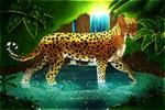 Leopard pond+Speedpaint by Yechii