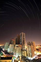 Polarized City by Shoayb