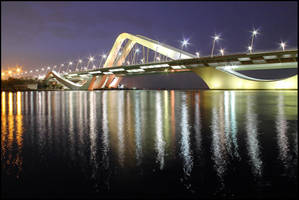 Sheikh Zayed Bridge by Shoayb