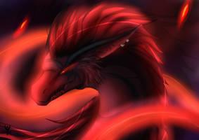 Gift: Blood dragon Dasek by Arenthor