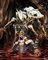 Skull Samurai by kometani