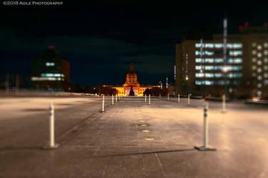 Alberta Legislature by AgilePhotography