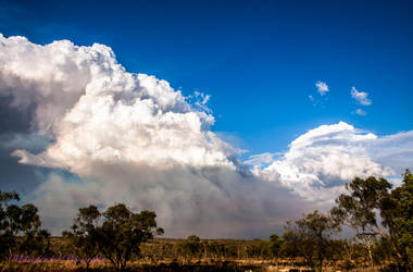 Outback Bushfire...2 by midnightrider79