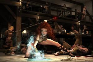 A Night At The Tavern by Bad-Dragon