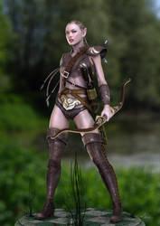 Leena Character Concept 1 by Bad-Dragon