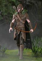 Tuatha Warrior Concept by Bad-Dragon