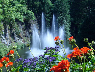 Butchart Garden- The Fountain by kukumalukun
