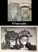 Younger Me vs Older Me 001 by MSPToons