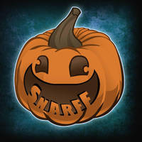 Snarff the Pumpkin Logo by MSPToons