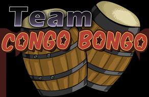 Team Congo Bongo Logo by MSPToons