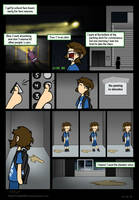 No Peeing in Elevator by MSPToons