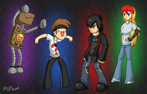 Noob Squad (2015) by MSPToons