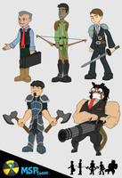 Mercenary Businessman by MSPToons