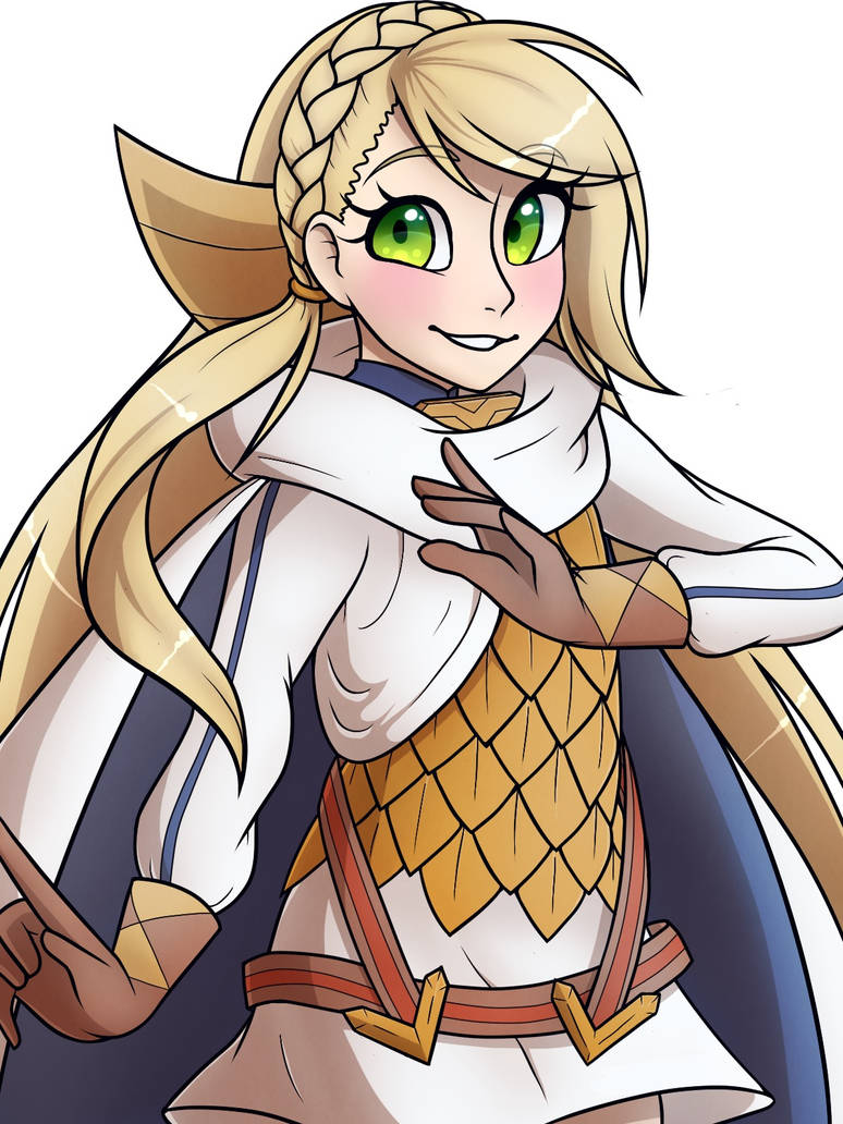 Sharena    FE:Heroes *no background* by Cynder69x7