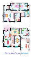House of Simpson family - Both floorplans by nikneuk