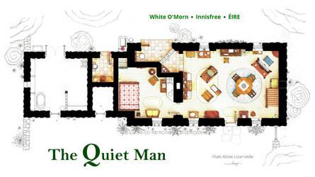 Floorplan of THE QUIET MAN cottage by nikneuk