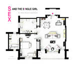 Dr. Helen Brown's apt from SEX AND THE SINGLE GIRL by nikneuk