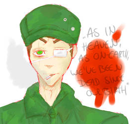 Military Man by Red-Acid-Cannibal