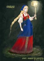 Vasilisa the Beautiful by YBourykina