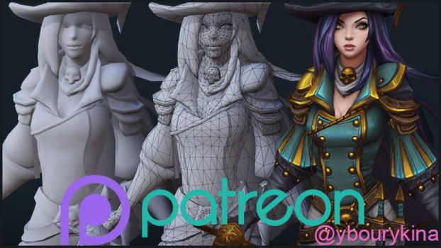My Patreon by YBourykina