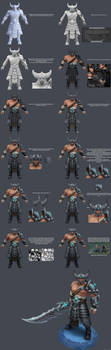 Tryndamere Texture Process by YBourykina