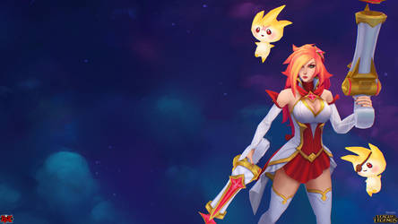 Star Guardian Miss Fortune Close Up by YBourykina