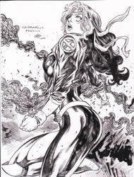 Rogue  Caiomarcus pencils Ray inks by rayan101