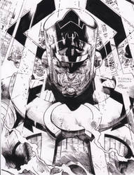 world eater Coipel pencils RAY inks by rayan101