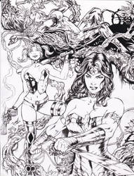 W.W. ,H.Q. ,P.I. David Lima pencils RAY inks by rayan101
