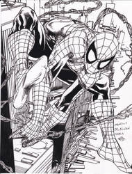 Spider-man McNiven pencils Ray inks by rayan101