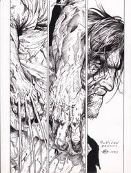 Death of Wolverine McNiven pencils Ray inks by rayan101