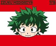 [Pixel Art/Birthday] Izuku Midoriya by UrielFerneschola
