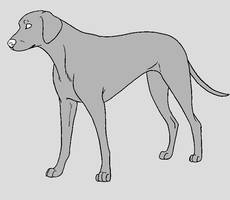 Dog Template - Dalmatian by NaruFreak123-Bases
