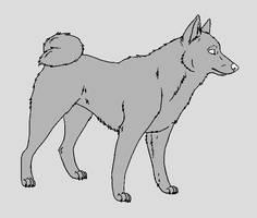 Dog Template - Karelian Bear Dog by NaruFreak123-Bases
