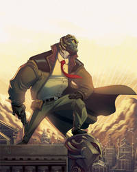 Urban Myths cover issue 1 by ZurdoM