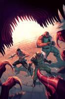 X- Men 17 cover by ZurdoM