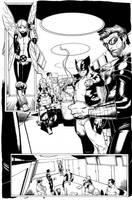 'X- Men 16' Page 3 by ZurdoM
