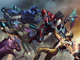 Armor Hunters Chromium Cover by ZurdoM