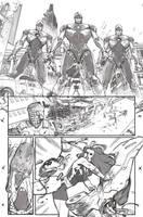 A-Force #3 Pencils by ZurdoM