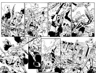 A-Force #5 Inks by ZurdoM