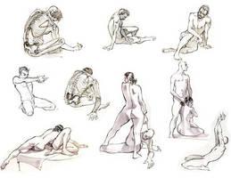 life drawing by ZurdoM