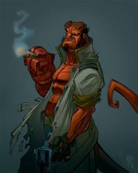 hellboy by ZurdoM