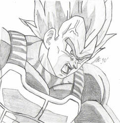 super Vegeta  by happysans