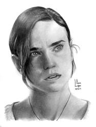 Jennifer Connelly - Portrait by SubliminAlex